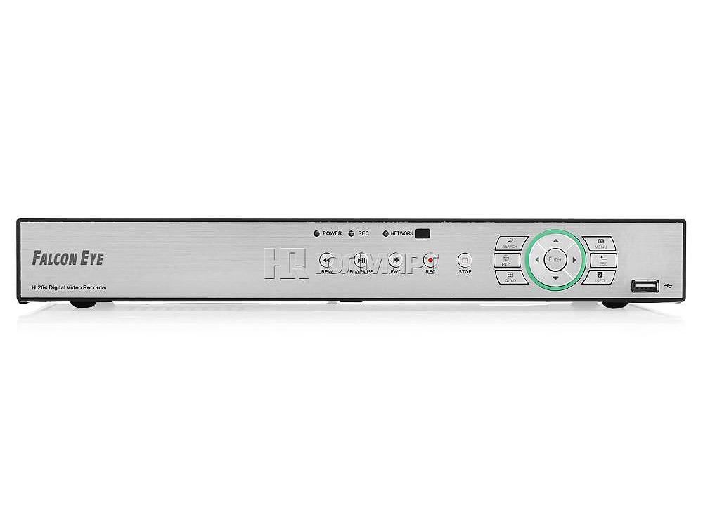 Видеорегистратор Falcon Eye FE-0216DE H264, D1/960H/1080P регистратор 16 канальный гибридный H264, D1/960H/1080P регистратор 16 канальный гибридный цена и фото