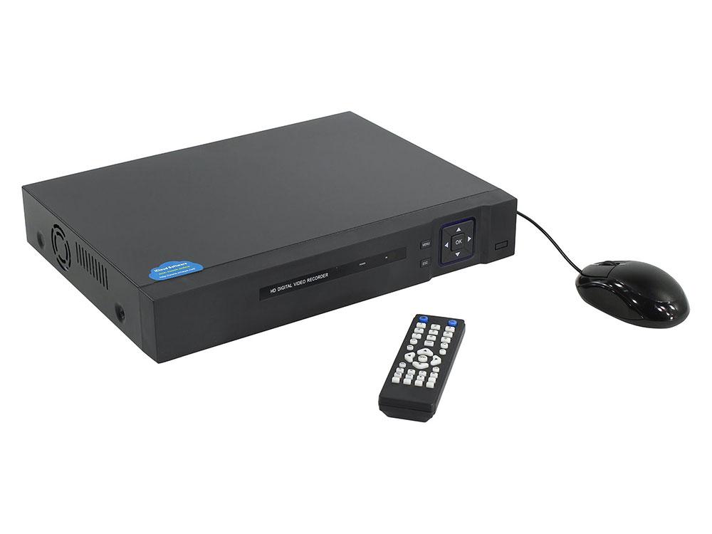Видеорегистратор ORIENT XVR-2904/1080H 5в1 ORIENT XVR-2904/1080H. Для подключ. до 12-и камер одновременно. Разр. AHD/TVI/CVI(1080H)/CVBS(960H)/IP(1080 распределительная коробка sab 950 для монтажа ahd ip камер orient серии 950 o93мм x 42мм алюминий цвет белый