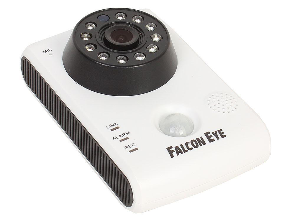 Комплект IP видеонаблюдения Falcon Eye FE-HOME KIT IP-камера и 2 датчика двери и датчик дымаIP видеокамера; Объектив 2.8мм; Матрица 1/4 CMOS; Разрешен камера видеонаблюдения falcon eye fe id5 0mhd 20m