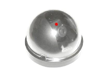 Муляж камеры видеонаблюдения Orient AB-DM-24,, LED (мигает), питание: батарейки ААA - 2шт, для установки внутр