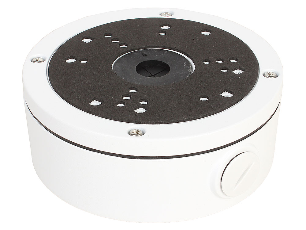 Распределительная коробка SAB-5X/955WP для монтажа AHD/IP камер Orient серий 58/68/955, ?145мм x 54мм, влагозащищенная, 2 гермоввода, алюминий, цвет б распределительная коробка sab 950 для монтажа ahd ip камер orient серии 950 o93мм x 42мм алюминий цвет белый