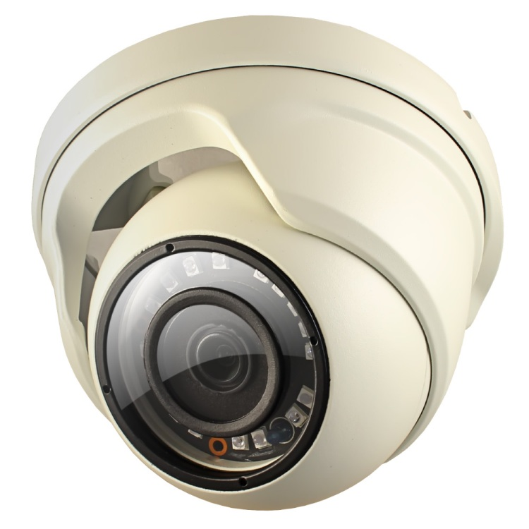 Камера Видеонаблюдения GINZZU HAD-2032S 2.0Mp, 1/4 Sony323, ИК подстветка до 20м