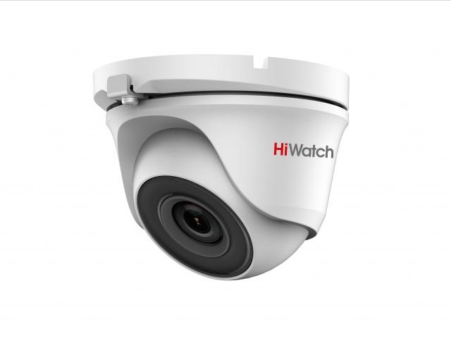 Камера HiWatch DS-T123 (2.8 mm) 1 Мп, уличная купольная