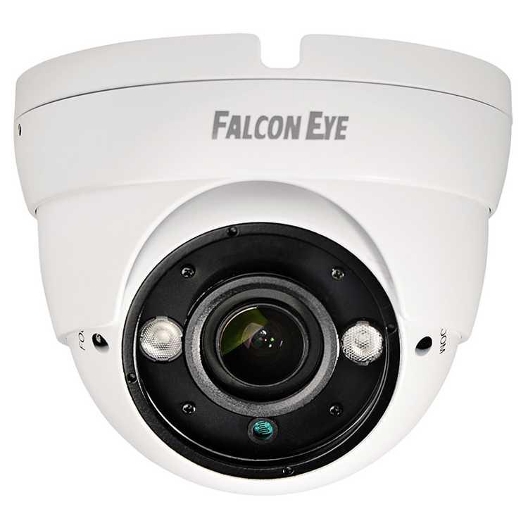 Камера Falcon Eye FE-IDV1080MHD/35M Уличная купольная гибридная видеокамера 1080P видеокамера falcon eye fe ib1080ahd 25m 3 6мм 1 2 8