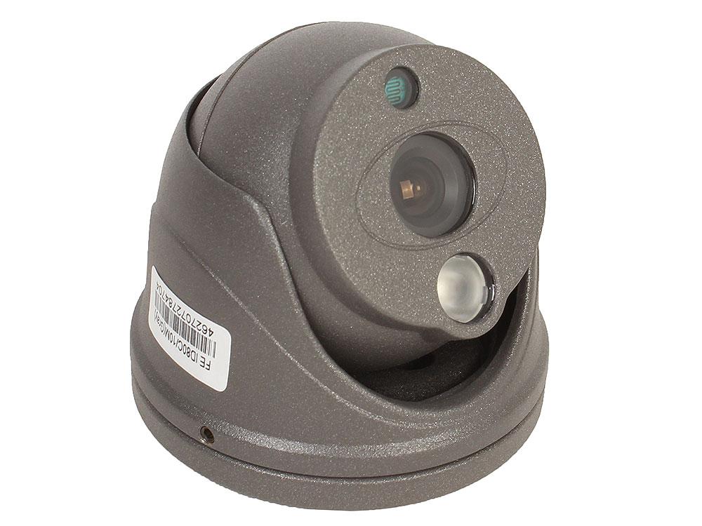 """Камера Falcon Eye FE ID80C/10M Уличная цв. 1/3"""" HDIS , день/ночь, фокус 3,6, разрешение 800твл. ИК-10м Мини дизайн.IP66. d=60мм.Автоматическая регулир"""