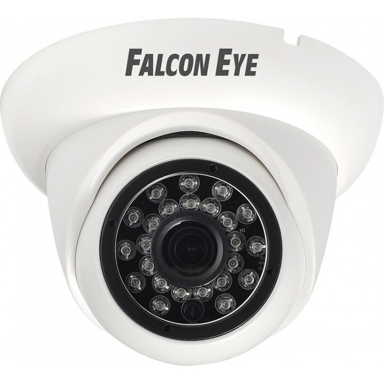 Камера Falcon Eye FE-ID1080MHD/20M-2.8 Уличная купольная гибриднаяAHD видеокамера 1080P (AHD, CVI, TVI, CVBS) 1/2.8' Sony IMX323 Exmor CMOS , 1920*108