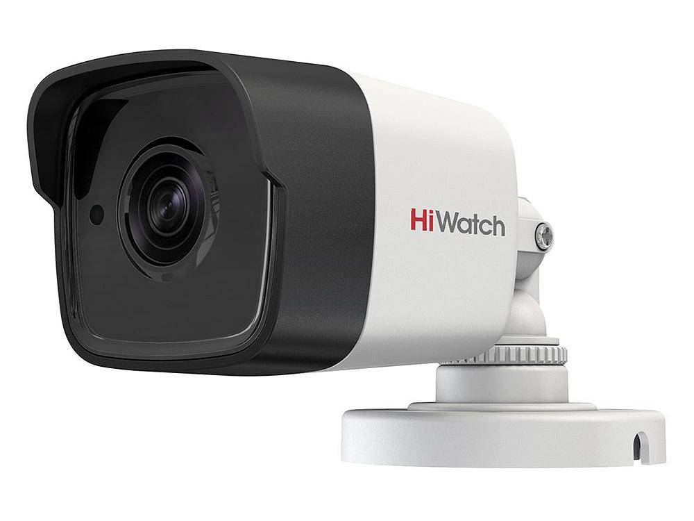 "Камера HiWatch DS-T300 (2.8 mm) 3Мп уличная цилиндрическая HD-TVI камера с ИК-подсветкой до 20м 1/3"" CMOS матрица; объектив 2.8мм; угол обзора 84°; 19"