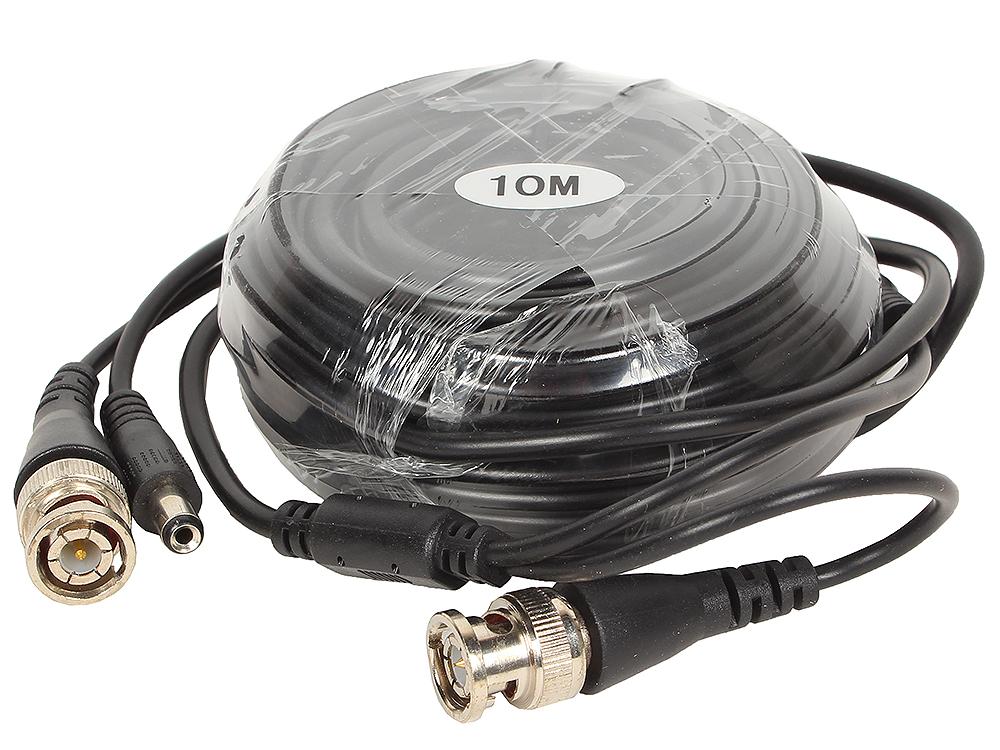 Кабель для камер видеонаблюдения ORIENT CVP-10, видео BNC + питание, 10 метров видео с веб камер онлайн