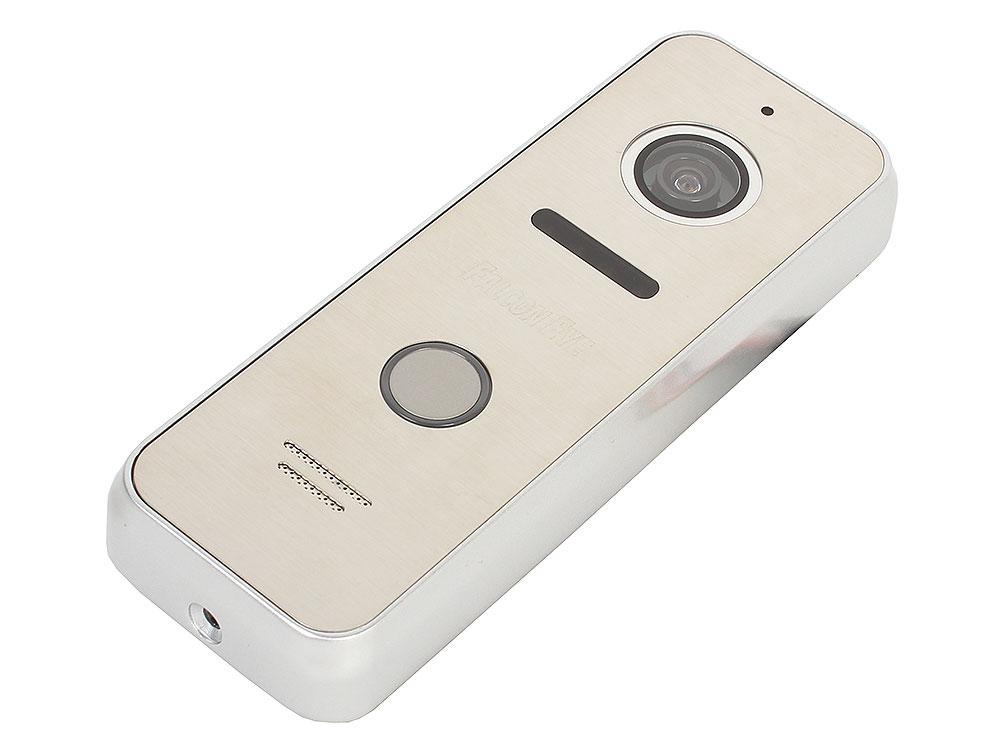 Вызывная панель Falcon Eye FE-ipanel 3 silver 4-х проводная; антивандальная накладная видеопанель; с Led подветкой до 1м, матрица CMOS, 800 ТВл, 12В, вызывная панель dvc 414si color silver