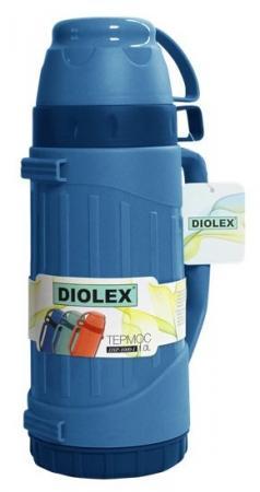Термос Diolex DXP-1000-1-B 1л синий цена и фото