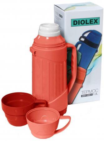 Термос Diolex DXP-1000-1-R 1л красный цена и фото