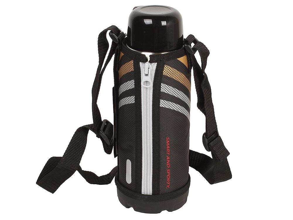 Термос спортивный Tiger MBO-E080 Black, 0.8 л нержавеющая сталь, цвет крышки черный, цвет термоса стальной термос спортивный tiger mbo e100 black 1 л