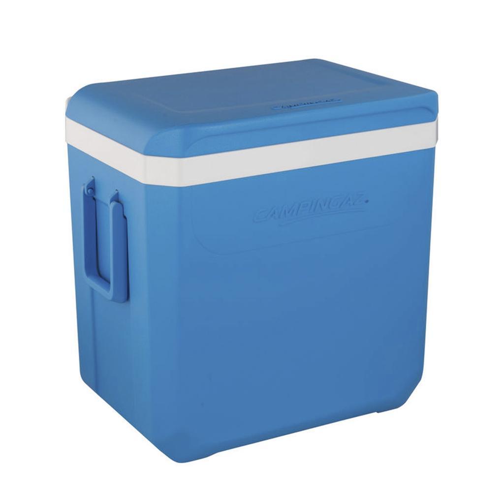 Контейнер изотермический Campingaz Icetime Plus 42л (цвет-голубой) контейнер изотермический campingaz isotherm 17l цвет синий объём 17l время хранения продуктов с аккумулятором холода до 20 5ч размер 39х46х27