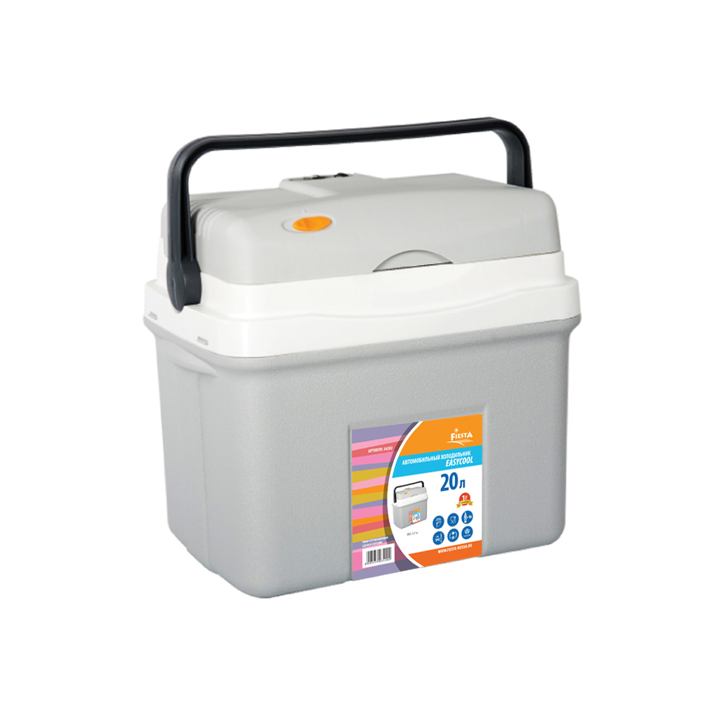 Холодильник автомобильный термоэлектрический Campingaz Fiesta 20L (12V, с функцией охлаждения и нагрева) термоэлектрический контейнер охлаждения ezetil e21 12v цвет красный серый 19 6 л