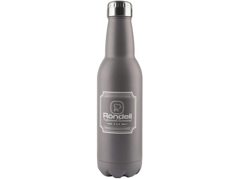 841-RDS Термос 0,75 л Bottle Grey Rondell недорого