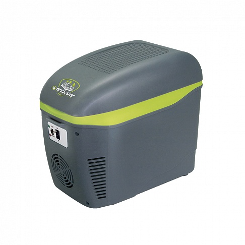 Термоконтейнер с функцией охлаждения и нагрева Endever VOYAGE-001,мощность 52 Вт, объем 7,5 л,серый, питание DC 12 B сумка холодильник endever voyage 007 мощность 48 вт объем 22 л серый черный питание dc 12 b