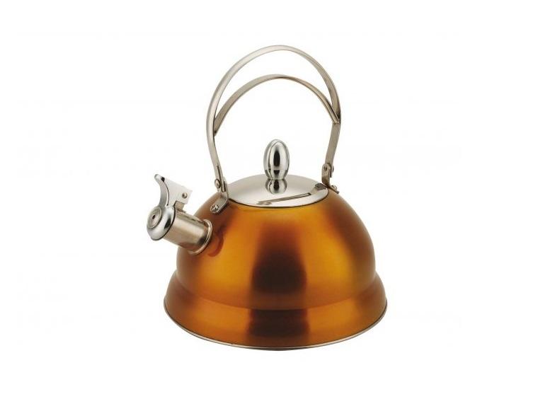 Чайник Bekker BK-S459 2.7 л нержавеющая сталь оранжевый дуршлаг bekker bk 826 20 см нержавеющая сталь