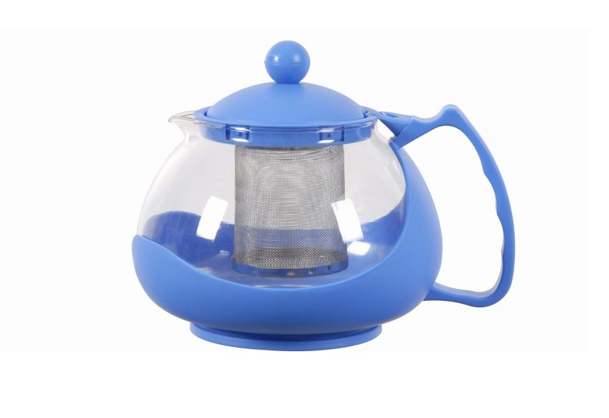 Заварочный чайник Bekker BK-308 1.25 л пластик/стекло чайник bekker 2 5 л bk s341m