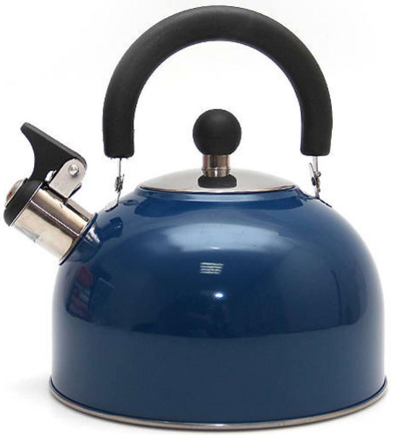 Чайник со свистком Катунь KT 105 S синий 2.5 л
