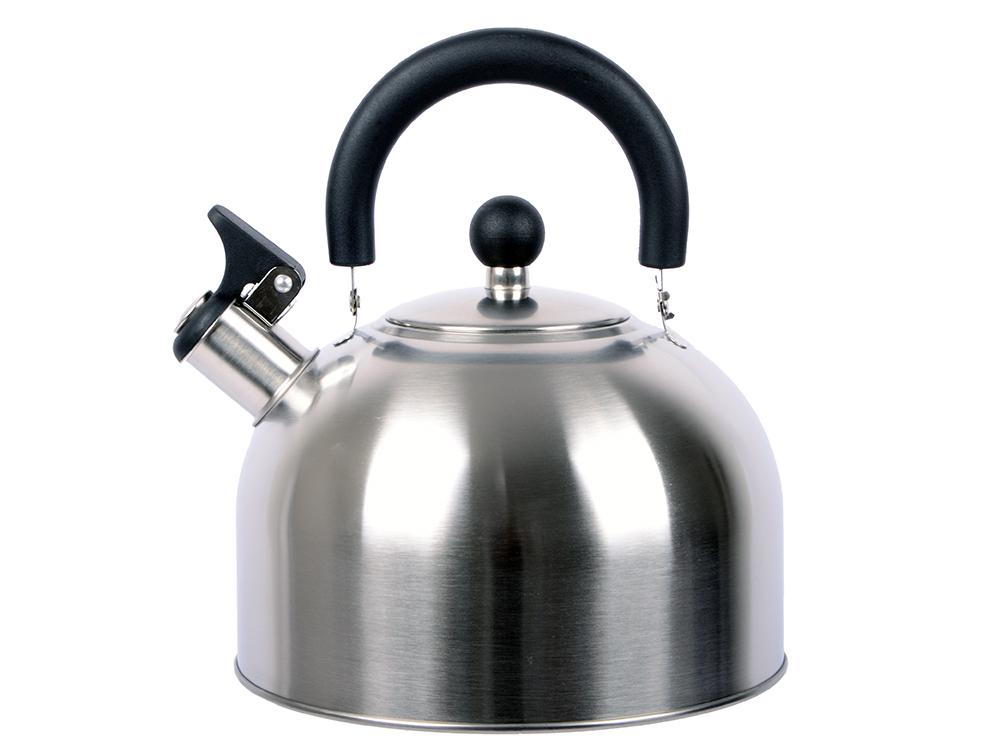 Чайник со свистком Катунь KT 104 серебристый 3.2 л, нержавеющая сталь