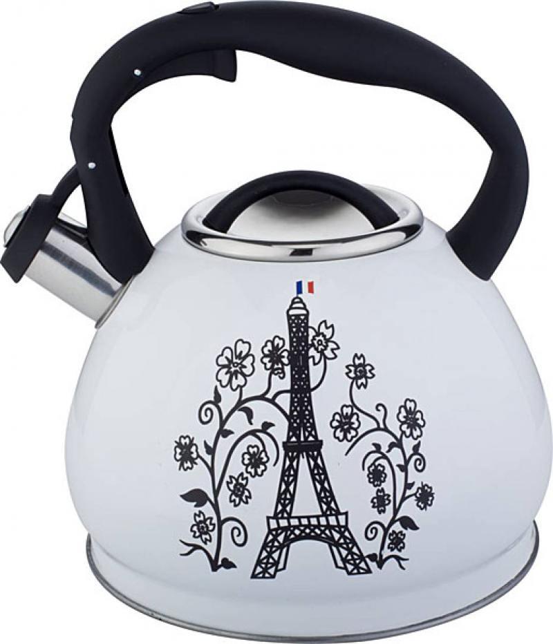 купить Чайник Bekker Premium BK-S602 белый 3 л нержавеющая сталь дешево