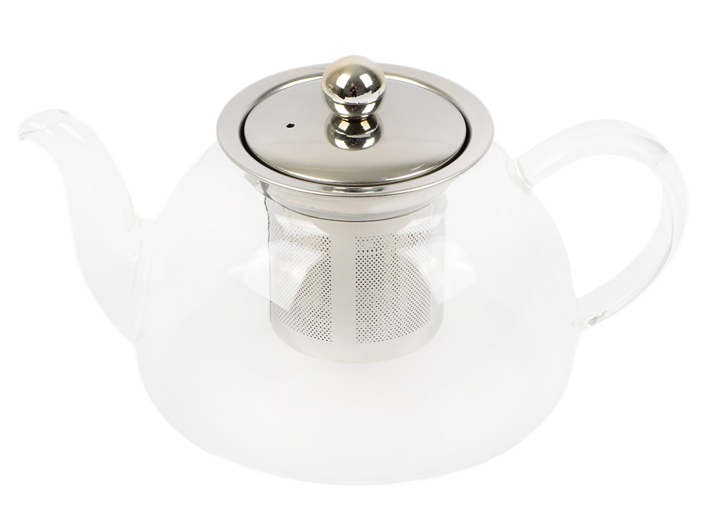 Чайник заварочный Teco TC-203 прозрачный 0.6 л стекло