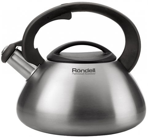 Чайник Rondell RDS-087 3л нержавеющая сталь (индукция) набор посуды rondell savvy 6 предм нерж сталь индукция