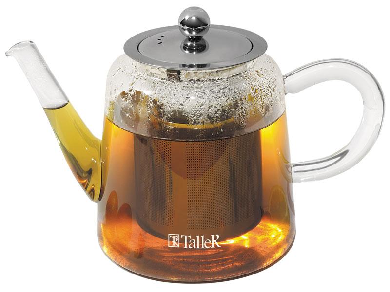 Чайник заварочный TalleR TR-1375 1000 мл чайник заварочный lenardi лошади 700 мл