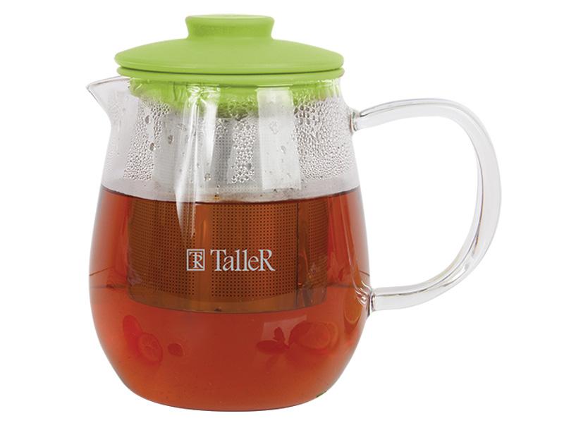 Чайник заварочный TalleR TR-1360, 600 мл чайник заварочный lenardi лошади 700 мл