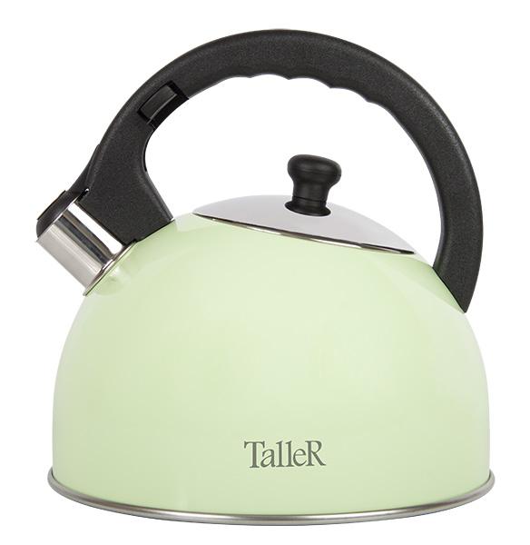 Фото - Чайник со свистком TalleR TR-1351 2,5 л чайник rainstahl со свистком цвет красный белый 2 л