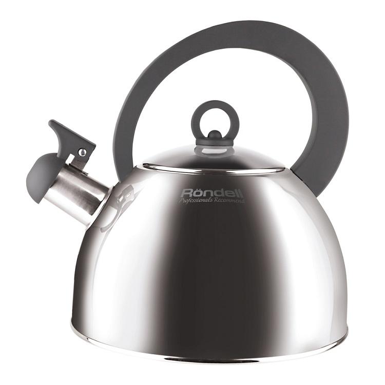 Чайник Rondell Strike RDS-922 Grey 2,0 л чайник geste 2 л со свистком гранатовый rds 361 rondell
