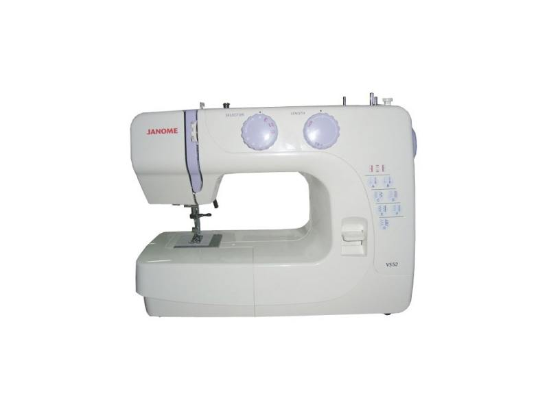 лучшая цена Швейная машина Janome VS52 серый