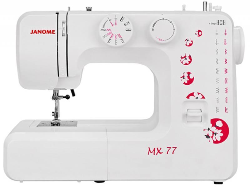 Швейная машина Janome MX 77 белый цена
