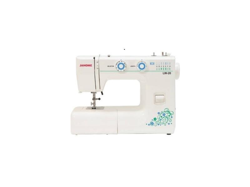 лучшая цена Швейная машина Janome LW-20 белый