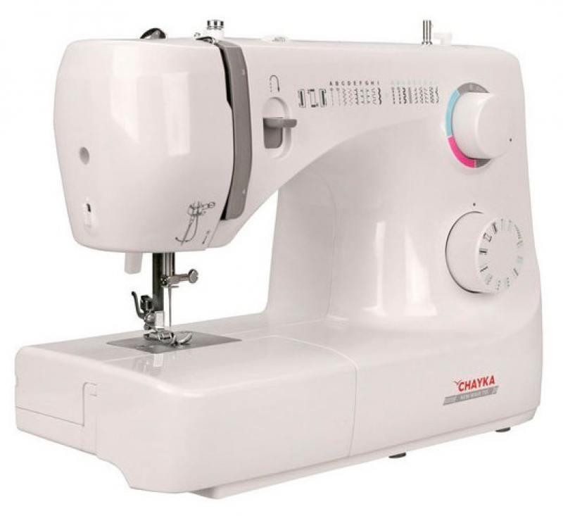 Швейная машина Chayka NewWave 735 белый sinbo ssw 101 white швейная машина
