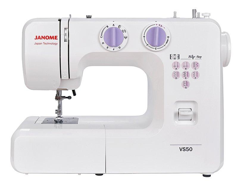 Швейная машина Janome VS 50 белый все цены