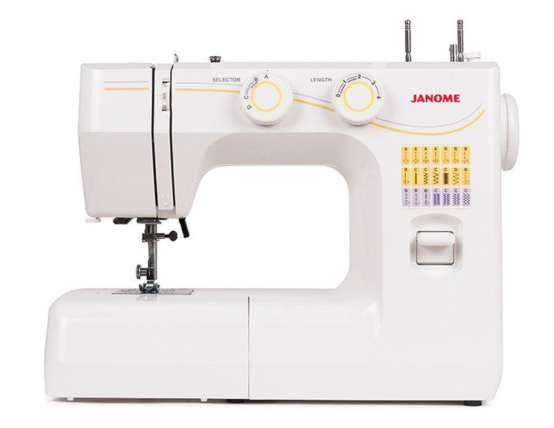 Швейная машина Janome 1143 белый цена