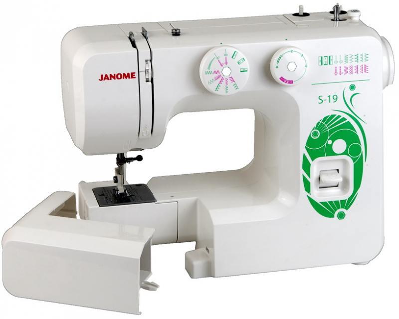 Швейная машина Janome S-19 белый цены