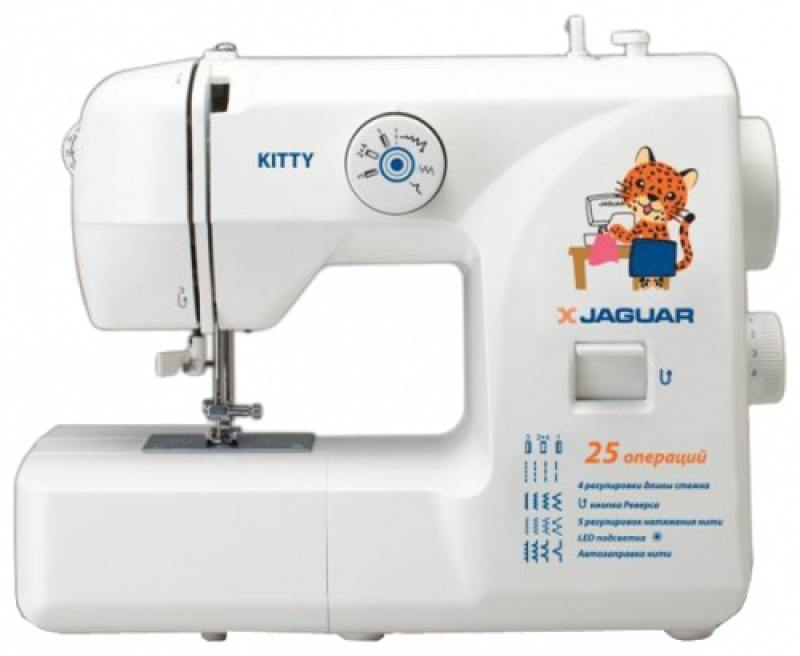 Швейная машина Jaguar Kitty белый