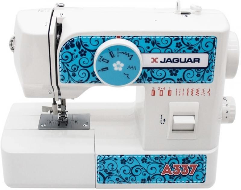 цена на Швейная машина Jaguar A-337 белый/рисунок