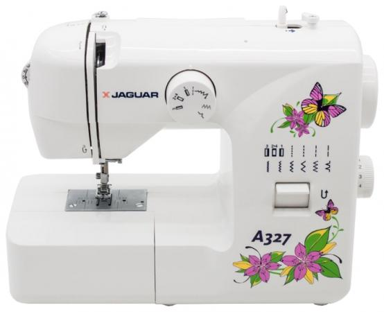 Швейная машина Jaguar A-327 белый sinbo ssw 101 white швейная машина