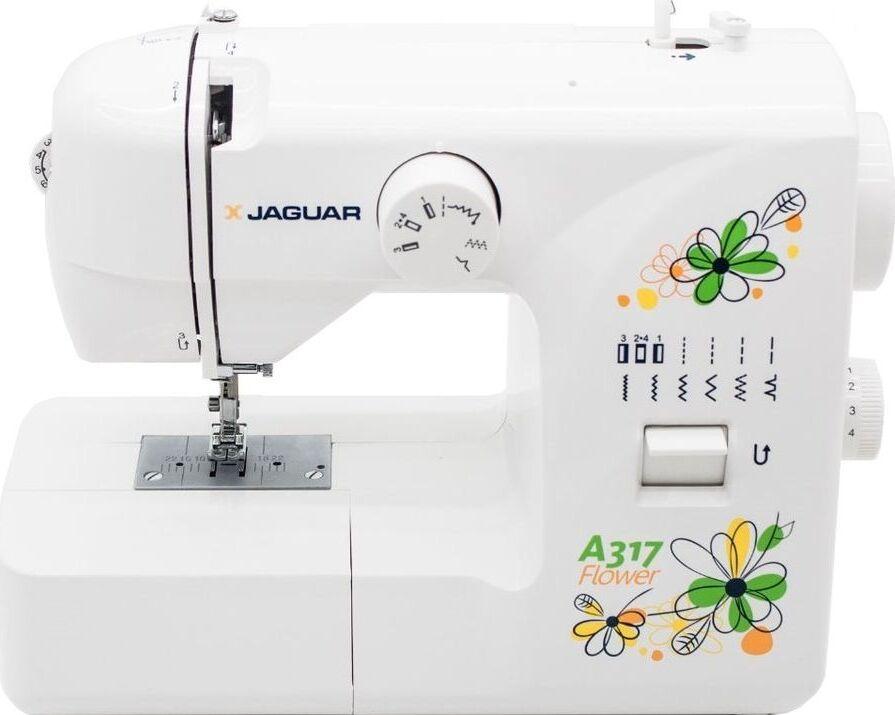 Швейная машина Jaguar A-317 белый цена 2017