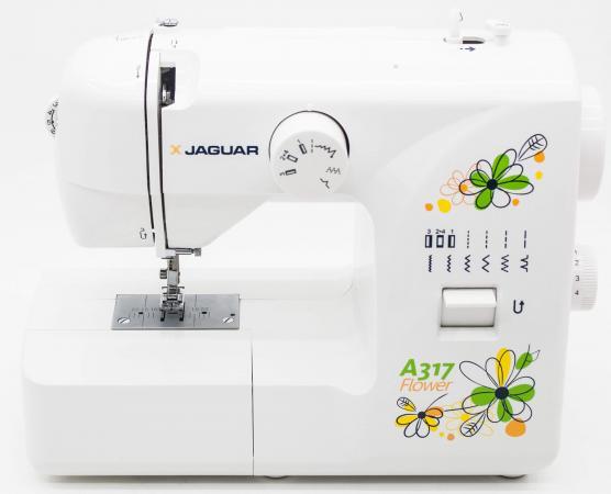 Швейная машина Jaguar A-317 белый sinbo ssw 101 white швейная машина
