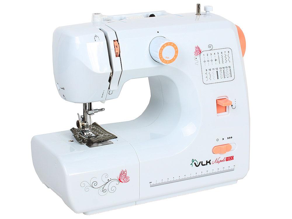 Швейная машина VLK Napoli 1600, белый цена и фото