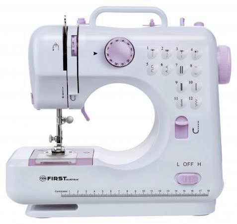 Швейная машина First FA-5700-2 белый пурпурный