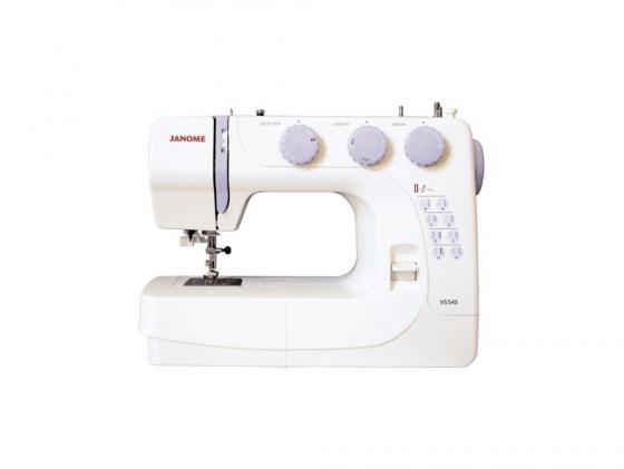 лучшая цена Швейная машина Janome VS54S белый