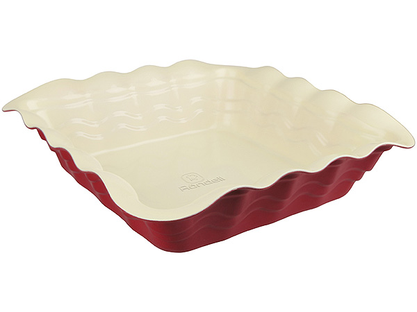 Форма для выпечки Rondell Wavy RDF-436 25см квадратная форма для запекания rondell wavy 38 х 27 см rdf 437
