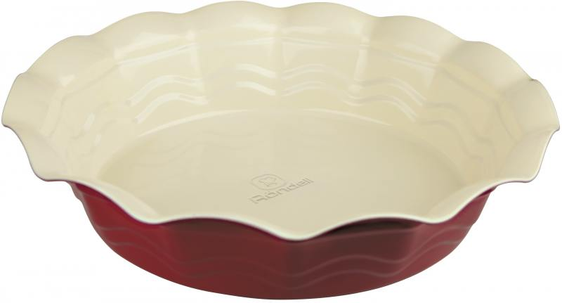 Форма для выпечки Rondell Wavy RDF-435 27см круглая форма для запекания rondell wavy 38 х 27 см rdf 437