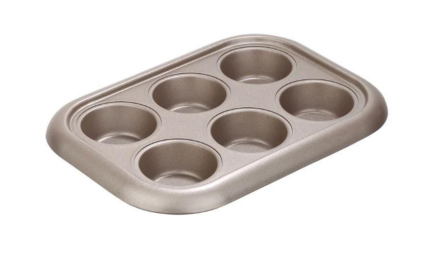 Форма для кексов стальная Nadoba RADA 761016 (29х21х3.5 см) перламутровый форма для 6 маффинов 29 4х21х3 5 см nadoba rada 761016