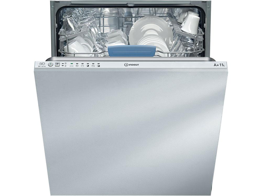 лучшая цена Встраиваемая посудомоечная машина INDESIT DIF 16T1 A